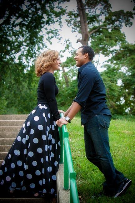 couples portraits at Bellevue Park, Belleville IL