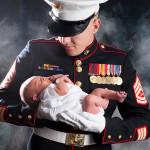 newborn baby photograph